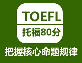 托福VIP(8-10人)冲刺课程(争100/110分)
