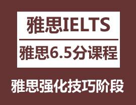 雅思6.5分强化VIP6人班
